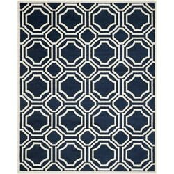 Safavieh Amherst Navy Indoor Outdoor Rug - 9' x 12'