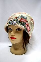 Felted Hat Handmade Exclusive Merino Wool 100% Woman Fashion for Winter