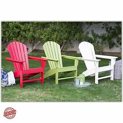 Adirondack Chair Plastic Kits Recycled Chairs Plans Belham Living Belmore NEW