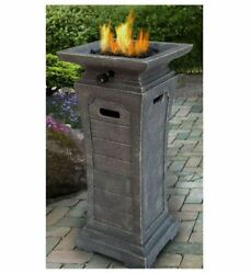 DIY Fire Pit Outdoor Gas Small Propane Gas Fireplace Patio Heater Electric Deck