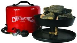 Camco Portable Propane Camp Fire Compact Fire-Restriction RV Campground Approved