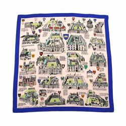 Jacqmar Vintage Silk Crepe Scarf Oxford Colleges Commemorative England 35