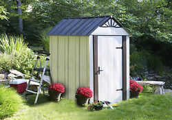 Arrow Designer Series Metro™ 4.51 ft. W x 6.38 ft. D Metal Vertical Tool Shed