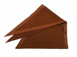 Auth Excellent HERMES Triangle Shawl Cashmere Wool Polyamide Leather Box 36863 B