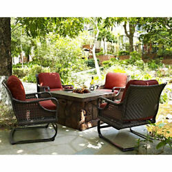 Darby Home Co Alpha Propane Fire Pit Table