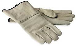 Protective Leather Gloves for Fireplaces [ID 7441]