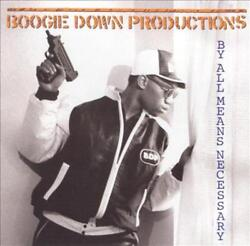 LP BOOGIE DOWN PRODUCTIONS BY ALL MEANS NECESSARY NEW VINYL RECORD $36.57