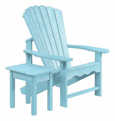 Bay Isle Home Aloa Adirondack Chair with Table Set