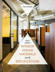 INTERIOR DESIGN MATERIALS AND SPECIFICATIONS - GODSEY LISA - NEW PAPERBACK BOOK