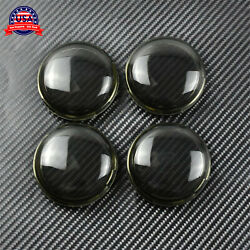 4Pcs Smoke Turn Signal Lens Cover Fit For 86-17 Harley Dyna Softail Sportster $8.99
