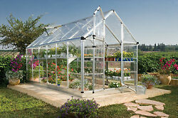 Palram Snap & Grow 6 Ft. W x 12 Ft. D Polycarbonate Greenhouse