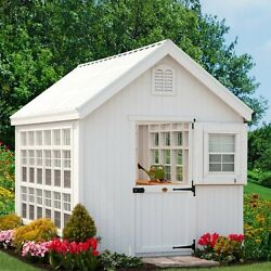 Little Cottage Company Colonial Gable 8 Ft. W x 16 Ft. D Greenhouse