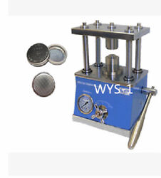 Hydraulic Coin Cells sealing Crimping Machine button battery dismantling MSK-110