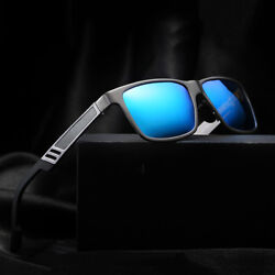 Men#x27;s Aluminium Polarized Colored Sunglasses Driving Outdoor Fishing Eye