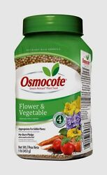 OSMOCOTE Fertilizer Plant Food Granules For Flowers Vegetables 1 lb 277160 NEW $15.02