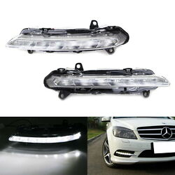 LED Daytime Running Lamps Replacement For Mercedes W204 W218 W221 X204 C CLS GLK
