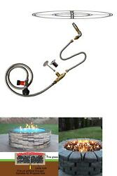 Stanbroil Lp Propane Gas Fire Pit Stainless Steel Burner Ring Installation Kit