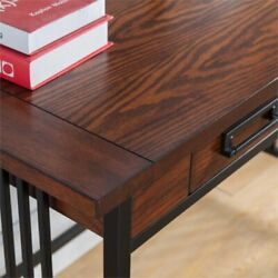 Leick Ironcraft Computer Desk in Mission Oak $260.00