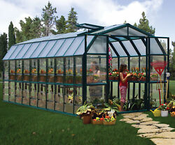 Rion Greenhouses Grand Gardener 2 Clear 8 Ft. W x 20 Ft. D Greenhouse