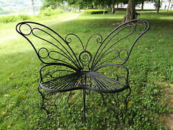 Hi-Line Gift Ltd. Butterfly Metal Garden Chair