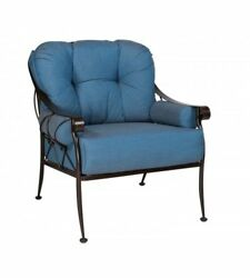 Woodard Derby Lounge Chair With Cushions