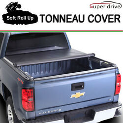Fits 2016-2019 Toyota Tacoma Lock Soft Roll Up Tonneau Cover 6ft (72