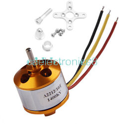 A2212 1400kv Outrunner Motor Brushless Airplane Aircraft Quadcopter Helicopter A C $5.98