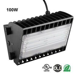 11000LM Commercial LED Wall Pack Light IP65 Outdoor Building Mounted Light 100W
