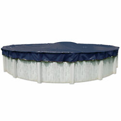 33' ft Round Above Ground Swimming Pool Winter Cover - 10 Year Warranty