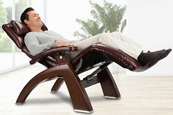 New PC-610 Omni-Motion Human Touch Zero Gravity Perfect Chair Recliner WALNUT