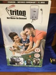 TRITON CAMP CHEF Hot Water On Demand Portable Water Heater PROPANE Model HWD5-1