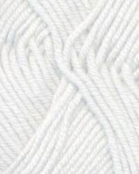 Lot (5) Debbie Bliss Baby Cashmerino Color #100 WHITE