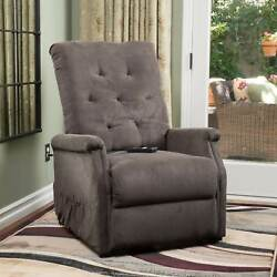 Recliner Chair Lounge Sofa Swivel Lift Club Electric Remote Control Zero Gravity