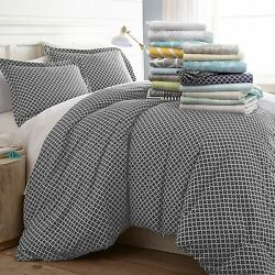 Hotel Luxury 3 Piece Patterned Duvet Cover Sets - 8 Beautiful Designs