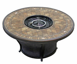 TK Classics Cape Cod Outdoor Wicker 9 Piece Fire Pit Seating Group with Cushion