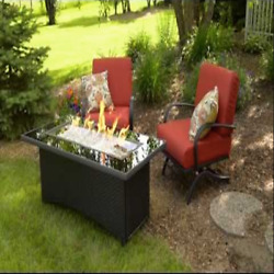 Montego Fire Pit Table Bundle Special Offer Outdoor GreatRoom Company