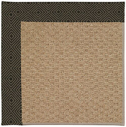 Capel Rugs Zoe Machine Tufted MagmaBrown IndoorOutdoor Area Rug