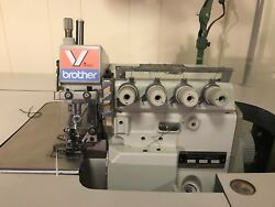 BROTHER MA4-V61 2-Needle 5-Thread Overlock Serger Industrial Sewing Machine
