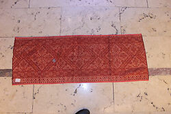 ANTIQUE ORIGINAL COTTON SILK HANMADE MOROCCO  AMAZING ASIAN TEXTILE