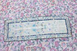 ANTIQUE ORIGINAL PERFECT SILK CHINESE HANDMADE SMALL TEXTILE