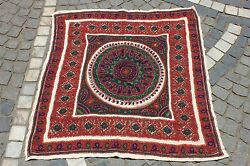 ANTIQUE ORIGINAL PERFECT HANDMADE PERSIAN ISLAMIC FULL WOOL TEXTILE