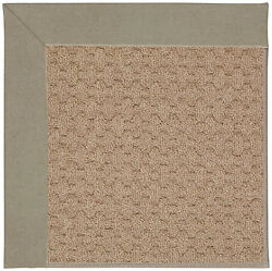 Capel Rugs Zoe Grassy Mountain Machine Tufted BuffBrown IndoorOutdoor Area Rug