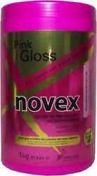 Embelleze Novex Pink Gloss Extra Deep Hair Care Cream 35oz(For dull hair and lif