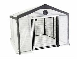 10 ft. x 10 ft. Secure Without Floor Home Planter Portable Greenhouse Garden