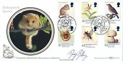 1998 Benham First Day Cover Endangered Species signed by David Bellamy GBP 10.00