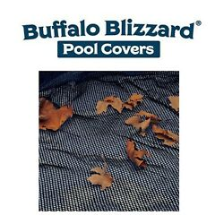 Buffalo Blizzard Round Oval Rectangle Swimming Pool Leaf Net Cover Choose Size $49.29