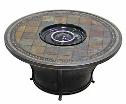 TK Classics Barbados Outdoor Wicker 8 Piece Fire Pit Seating Group with Cushion
