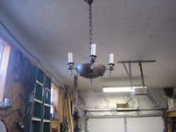 2 1924 Antique Chandeliers. $75.00