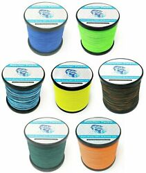 Reaction Tackle Braided Fishing Line Various Sizes and Colors $13.99