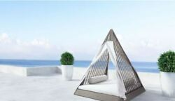 Zuo Modern Albany Outdoor Daybed Luxury Patio Furniture Condominium Hotel